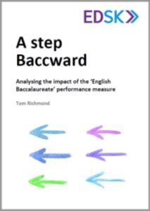 A STEP BACCWARD