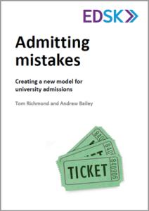 ADMITTING MISTAKES